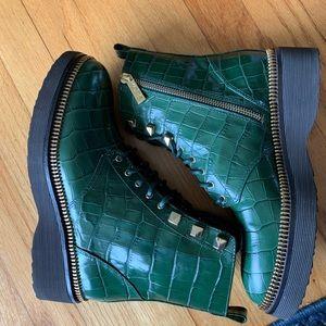 Michael Kors Haskell Combat Boots